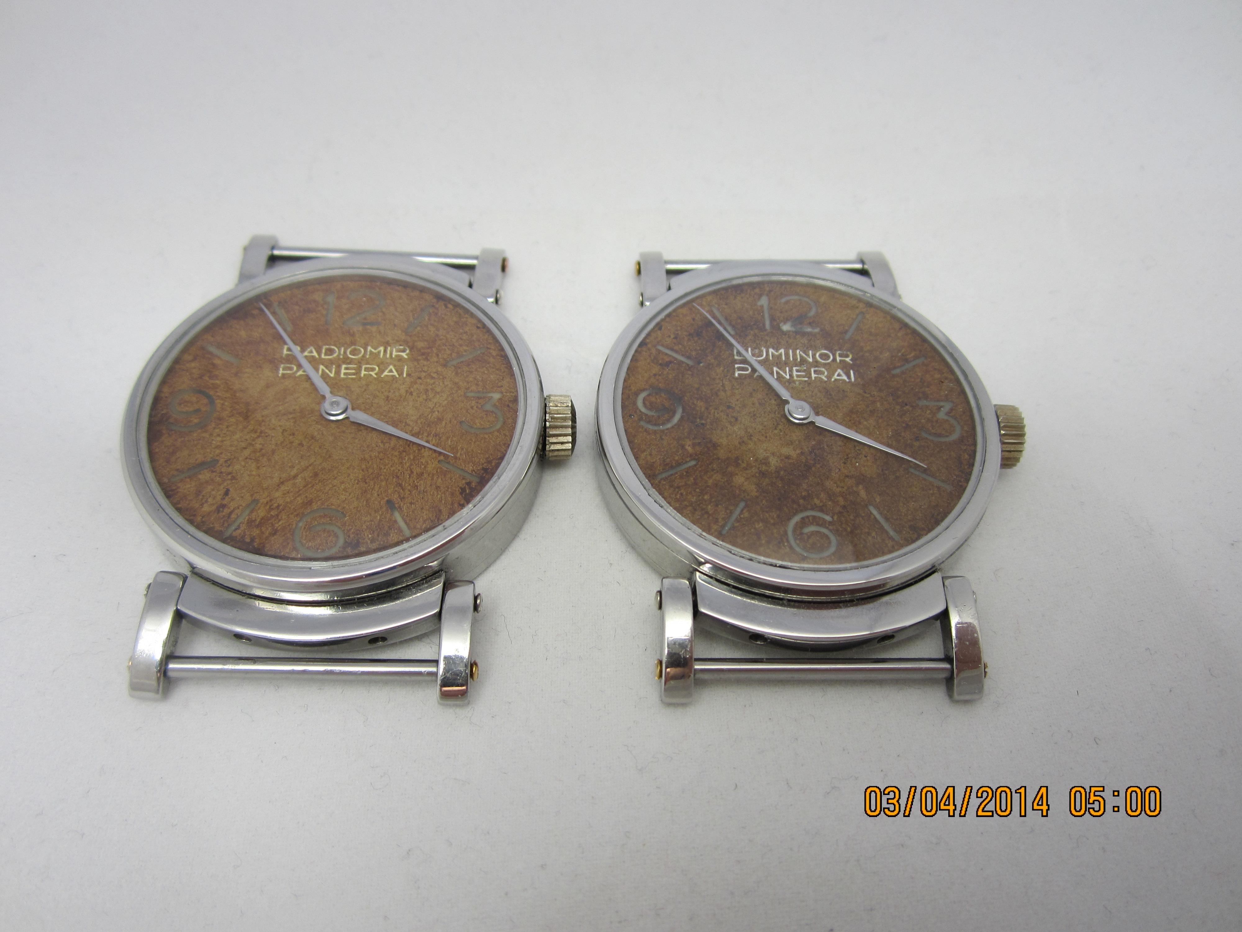 Panerai Pocket Watch in Watchcircle custom Case