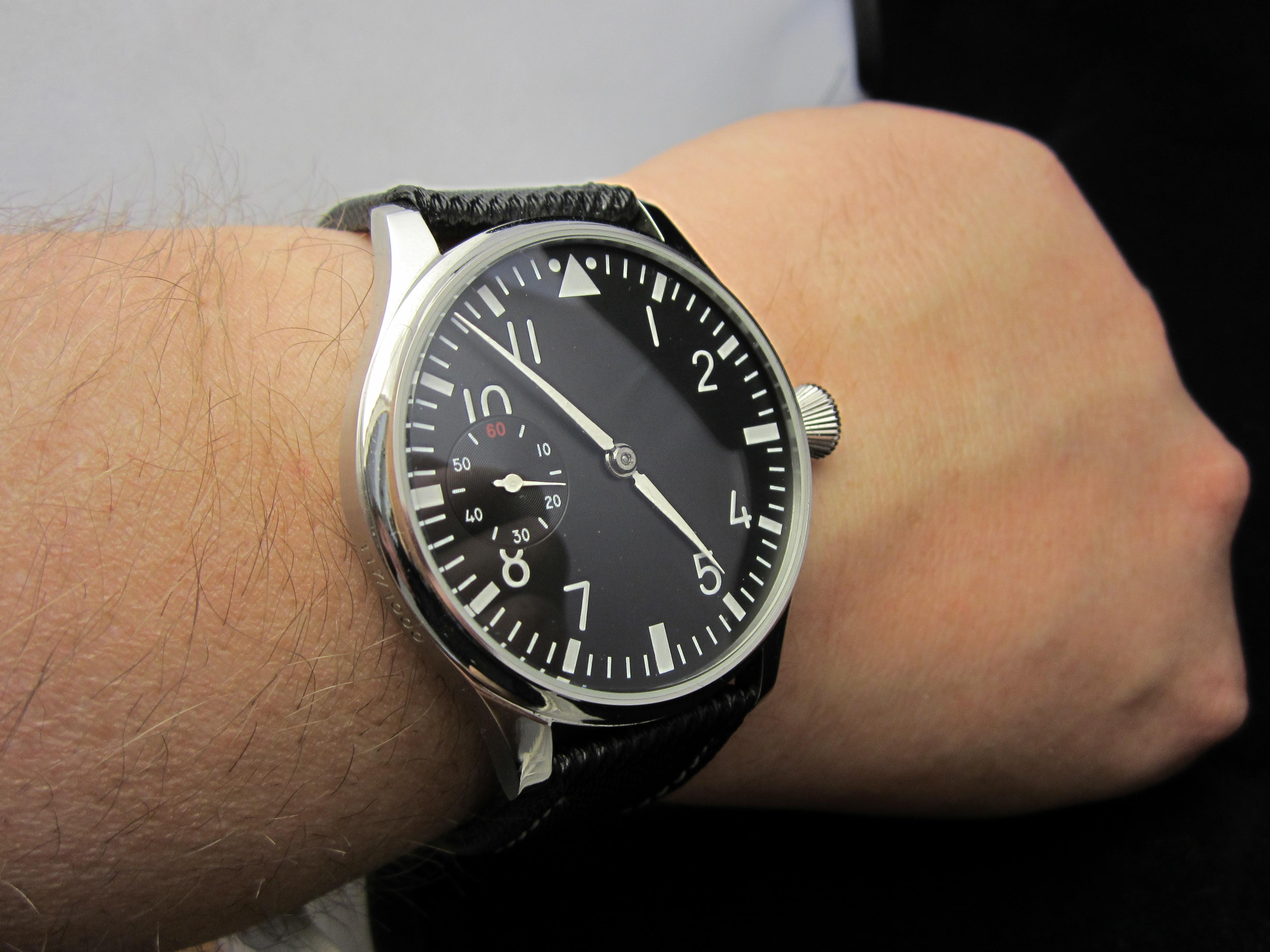 amilton Pocket Watch Conversion